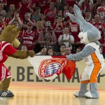 Basketball Final Four 2014 Pokal in Ulm Ratiopharm Arena Halbfinale Bayern gegen Ulm