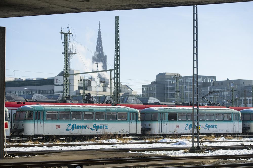 Bahnbus Ulmer Spatz